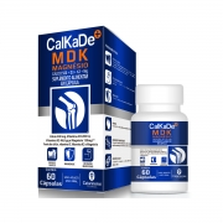 Calkade MDK Magnésio 60 Cápsulas - Catarinense