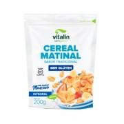 Cereal Matinal Tradicional Sem Glúten 200g - Vitalin