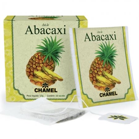 Chá de Abacaxi com 10 Sachês - Chamel