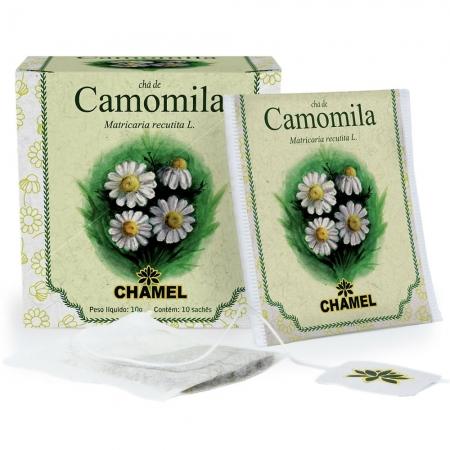 Chá de Camomila com 10 Sachês - Chamel