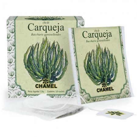 Chá de Carqueja com 10 Sachês - Chamel