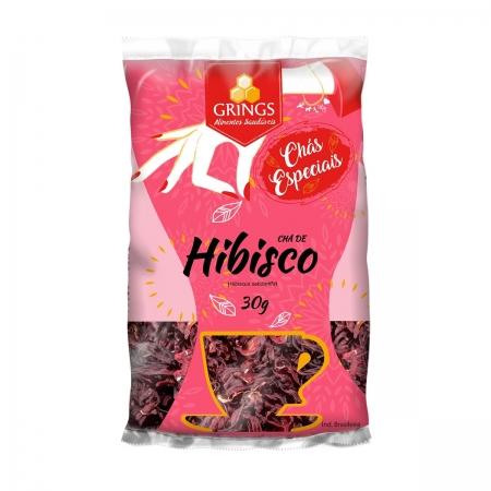 Chá Flor de Hibisco 30g - Grings