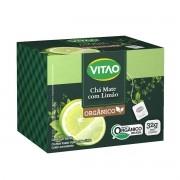 Chá Mate com Limão Orgânico 20 sachês - Vitao
