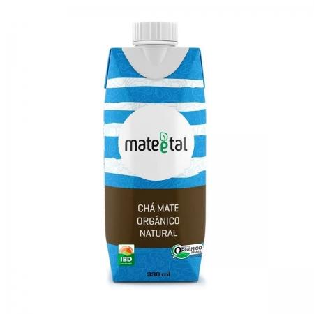 Chá Mate Orgânico Sabor Natural 330ml - Mate e Tal