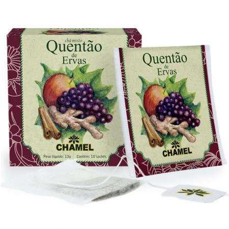 Chá Misto Quentão de Ervas com 10 Sachês - Chamel