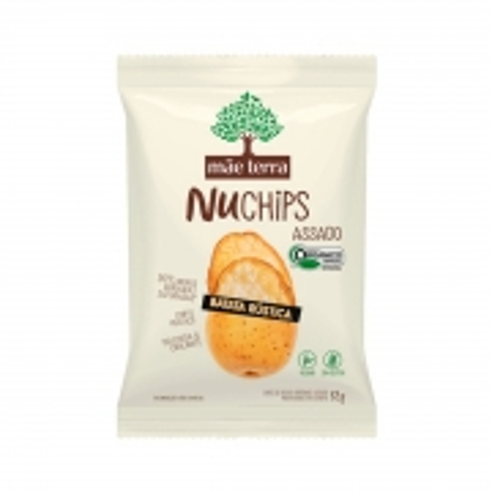 Chips Assado Orgânico sabor Batata Rústica 32g - Mãe Terra