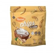 Chips de Coco com Gengibre de 20g - Flormel