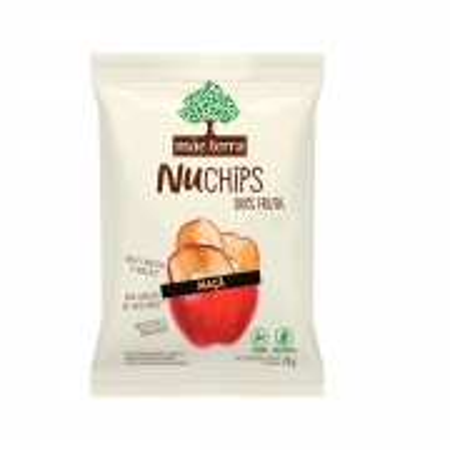 Chips Orgânico de Maçã 32g - Mãe Terra