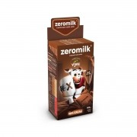 Chocolate 40% Cacau Zero Lactose Display com 6 un. de 80g - ZeroMilk