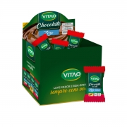 Chocolate Ao Leite Com Cereais Zero Açúcar 30un de 7g - Vitao