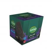 Chocolate Meio Amargo Proteico Zero Açúcar 18 un de 30g - Vitao