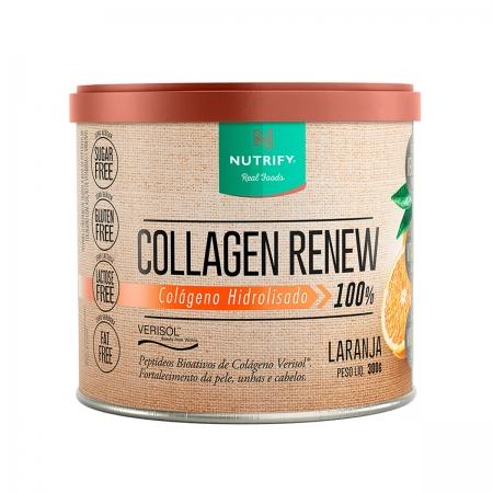 Colágeno Collagen Renew sabor Laranja 300g - Nutrify