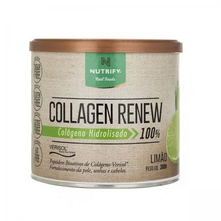 Colágeno Collagen Renew sabor Limão 300g - Nutrify