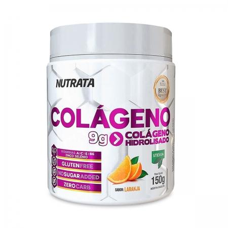 Colágeno Hidrolisado Sabor Laranja 150g - Nutrata