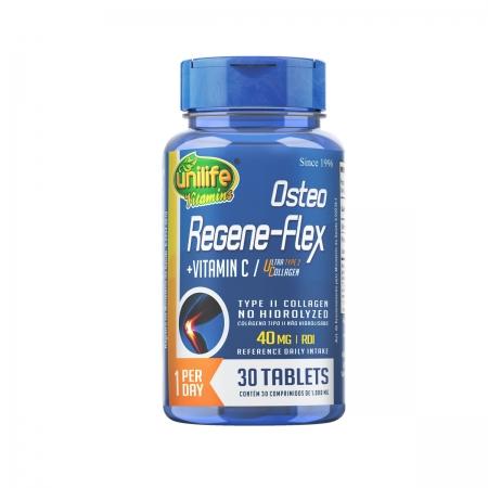 Colágeno tipo II com Vitamina C Regeneflex 1000mg 30 Comprimidos - Unilife