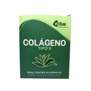 Colágeno Tipo II Não Desnaturado 60 cápsulas de 40mg - Ektus