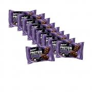 Cookie Bar Protein Sem Glúten Zero Double Chocolate com 10 unidades de 40g - Belive