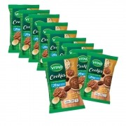 Cookie Zero Banana com Choc. display com 10 un. de 80g - 661 Vitao