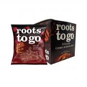 Cookies de Batata Doce sabor Beterraba Display 7un de 30g - Roots To Go