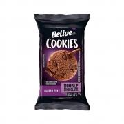 Cookies Sem Glúten Double Chocolate 34g - Belive