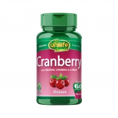 Cranberry 500mg 60 Cápsulas - Unilife