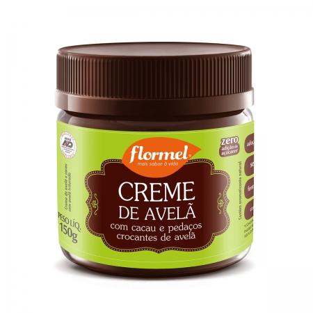 Creme de Avelã Crocante Zero 150g- Flormel