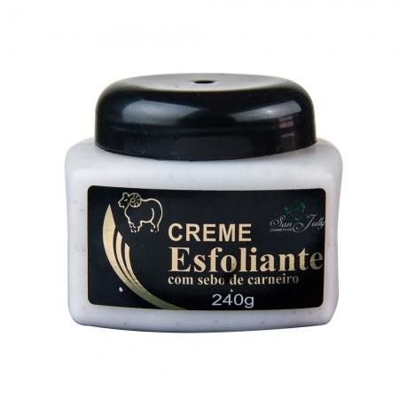 Creme Esfoliante com Sebo de Carneiro 240g - San Jully