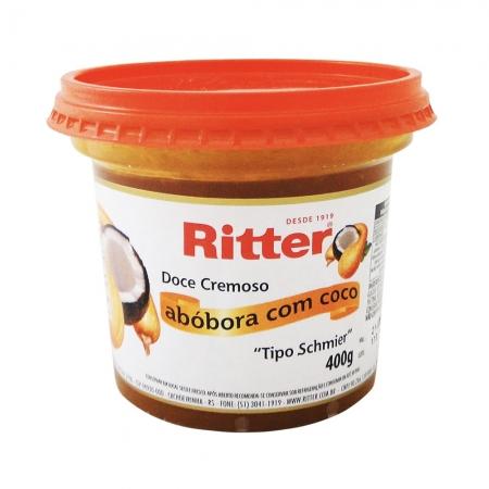 Doce Cremoso de Abóbora com Coco 400g - Ritter