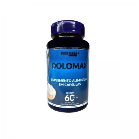 Dolomax 600mg com 60 cápsulas - Poly Flora