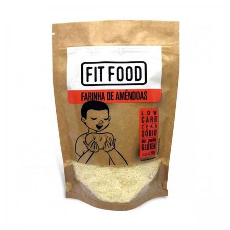 Farinha de Amêndoas 200g - Fit Food