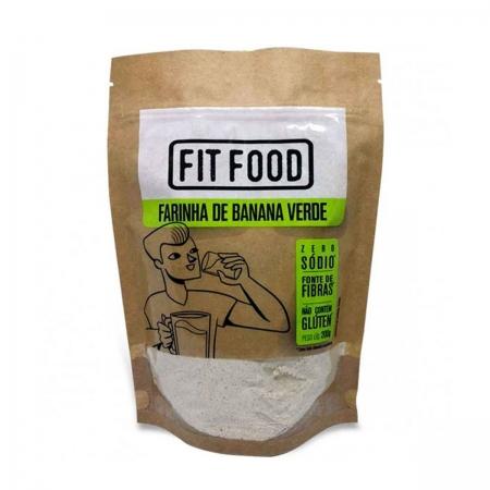 Farinha de Banana Verde 200g - Fit Food
