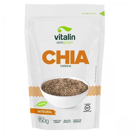 Farinha de Chia Integral 150g - Vitalin