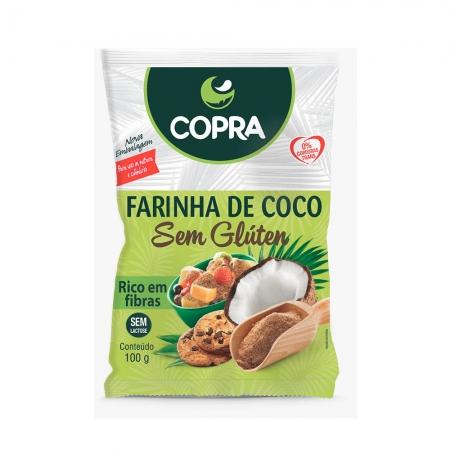 Farinha de Coco Sem Glúten 100g - Copra