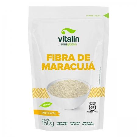 Farinha de Fibra de Maracujá Integral 150g - Vitalin