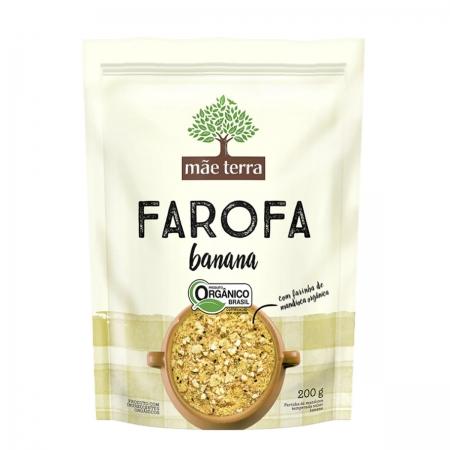 Farofa com Banana Orgânico 200g  - Mãe Terra