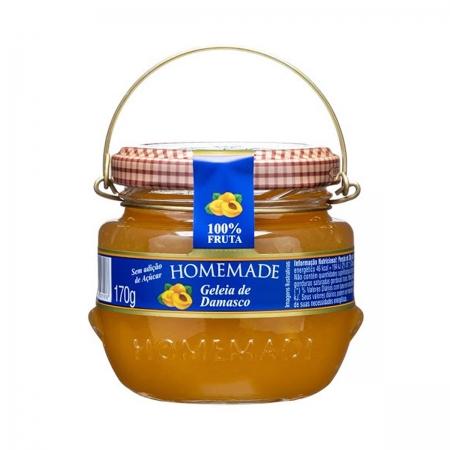 Geleia de Damasco 100% Fruta 170g - Homemade