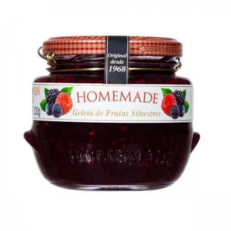 Geleia de Frutas Silvestre 320g - Homemade