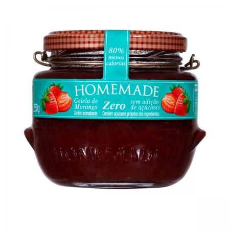 Geleia de Morango Zero 250g - Homemade