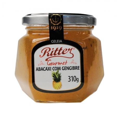 Geleia Gourmet Abacaxi com Gengibre 310g - Ritter