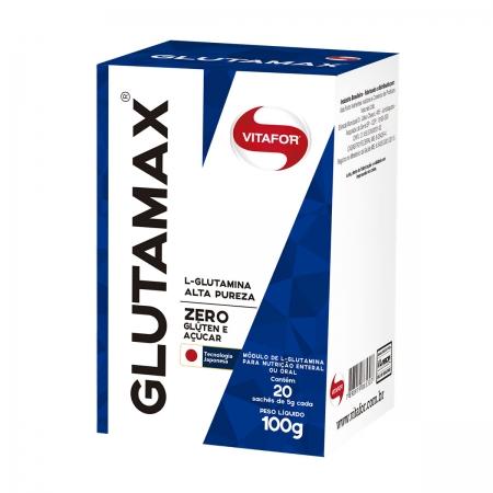 Glutamax com 20 Sachês de 5g  - Vitafor