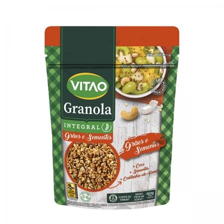 Granola com Grãos e Sementes 250g - Vitao