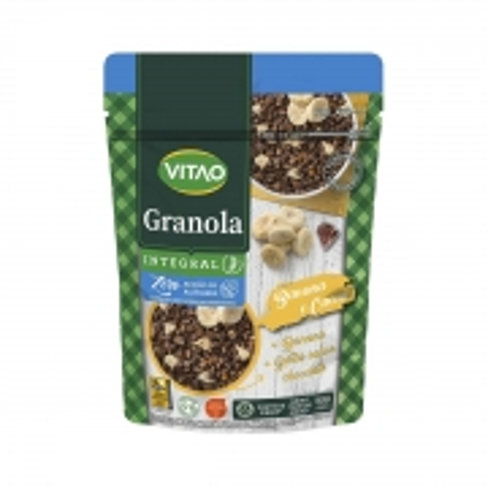 Granola de Banana e Cacau Zero Açúcar 250g - Vitao