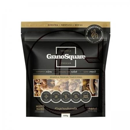 Granola Premium Tradicional 400g - GranoSquare