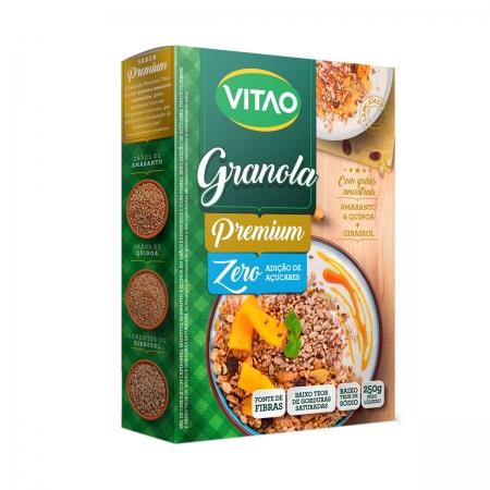 Granola Premium Zero Açúcar 250g - Vitao