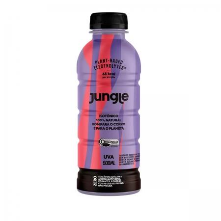 Isotônico 100% Natural Sabor Uva Orgânico 500ml - Jungle