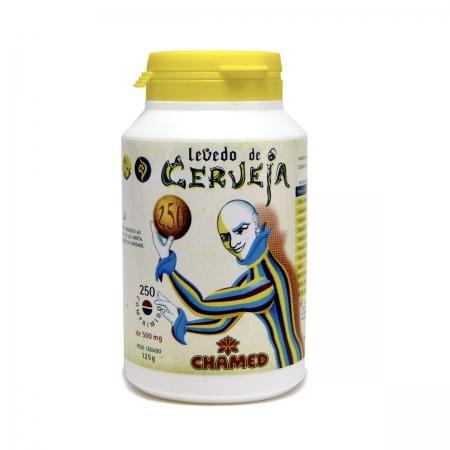 Levedo de Cerveja 500mg 250 Comprimidos - Chamel