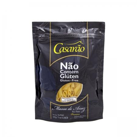 Macarrão de Arroz Penne Premium 200g - Casarão