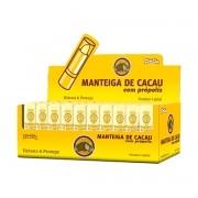 Manteiga de Cacau com Própolis Display com 50 un. de 3,5g - ZiinZiin ****