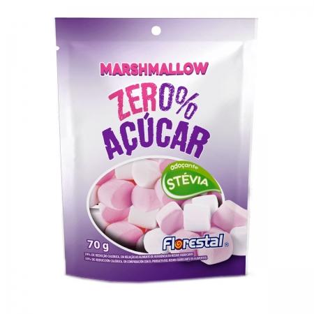 Marshmallow Zero com Adoçante Stévia 70g - Florestal
