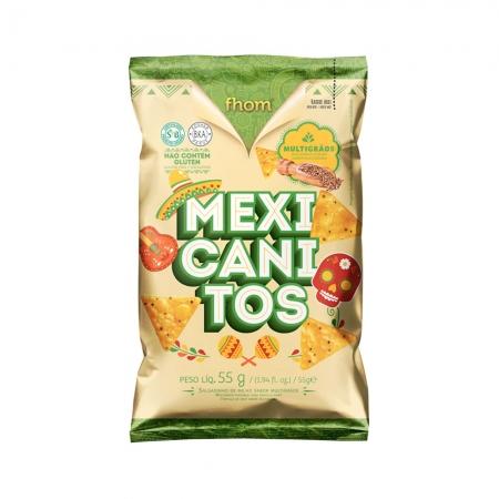 Mexicanitos Sabor Multigrãos 55g- Fhom